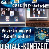 """Bild 0 für Bezirksjugend-Aktion: """"Wir bleiben verbunden"""" Beitrag Digitale Bezirksjugend-KonfiZeit"""